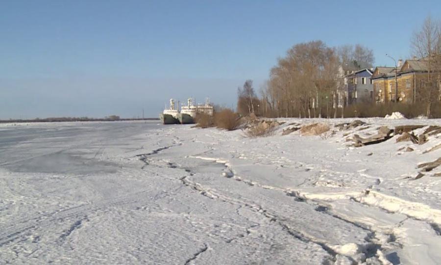Выход «важского» льда нареку Северная Двина предполагается 25апреля